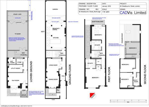 Proposed Building Plan