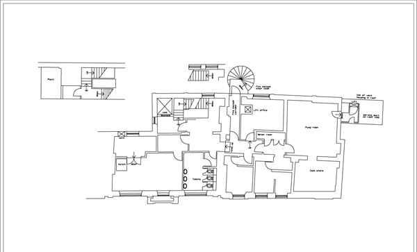 2D Drawing Services Include CAD Conversion, Floor Plans